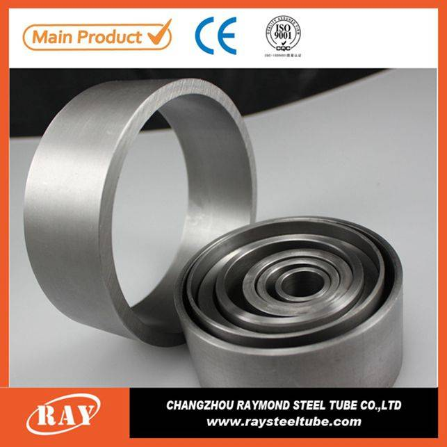 High precision silvery shock absorber roundn carbon steel tube
