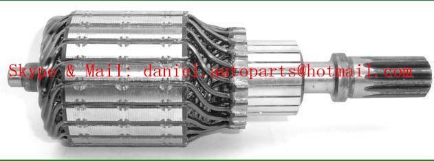 HITACHI 2114-31009,ISUZU 5811210390,NISSAN23310-N5900 Armature
