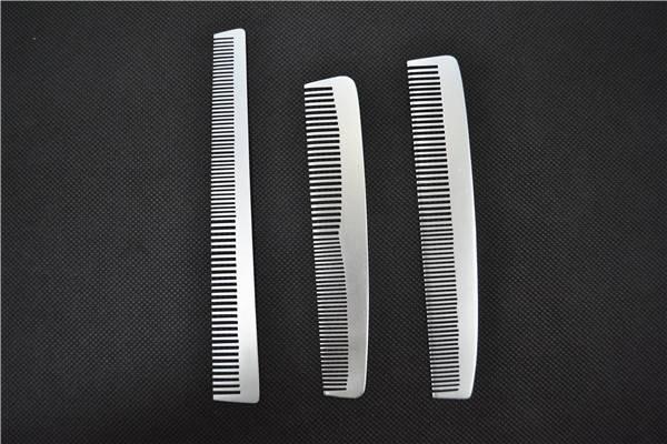 Professional Aluminum Flat Comb Hair Brush