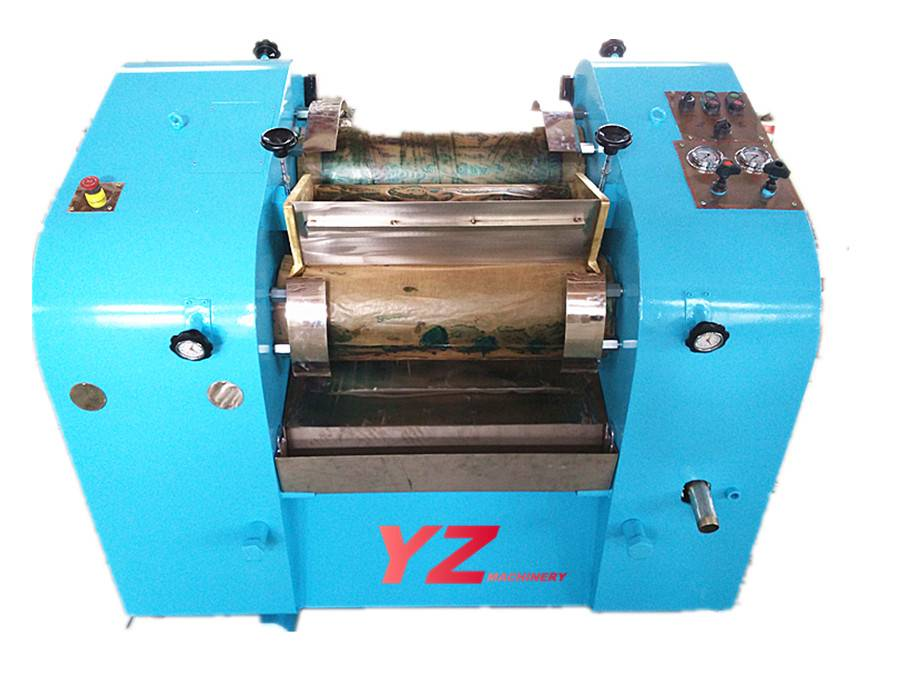 hydraulic power three roll mill