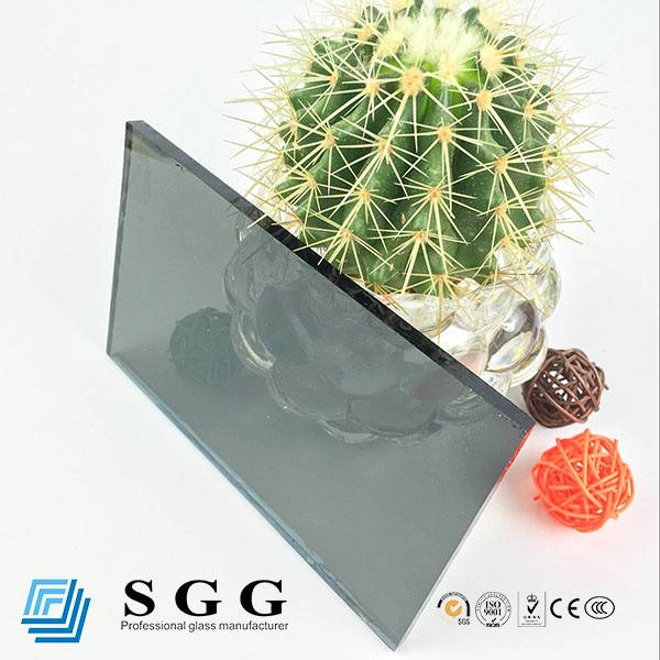 4mm 5mm 5.5mm 6mm 8mm 10mm Light GrayGrey Reflective Glass Price