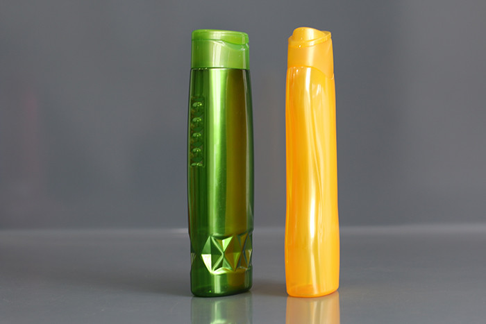 400ml Special Side Design Shampoo Plastic Bottle