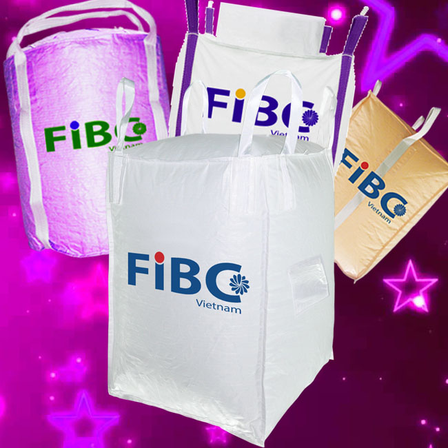 Fibc bulk big bag for Packaging bags in Vietnam