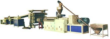 PVC\PP\PE Wood Plastic Sheet \Board Production Equipment