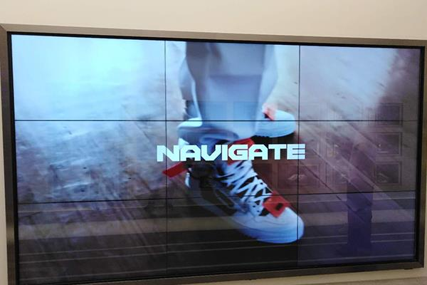 Interactive Touch Solution W3xH3 55inches Interactive Walls