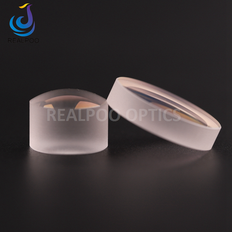 Diameter 1mm to 50mm uncoated Plano conve lenses PCX