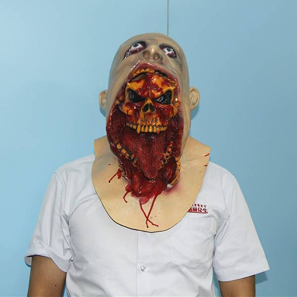 charlie latex mask scary parasite halloween mask