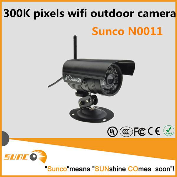 Easy to install outdoor ip camera wifi hd megapixels
