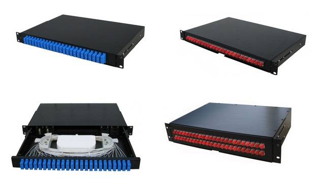 optical fiber drawer type terminal box