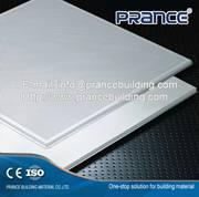 Environmental corrugated ceiling panel