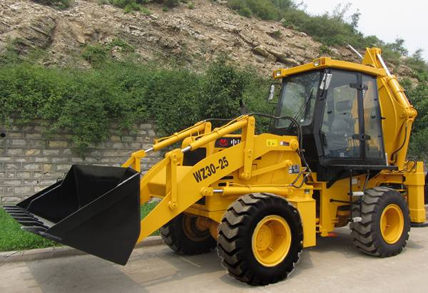 China backhoe loader quality as good as case loader
