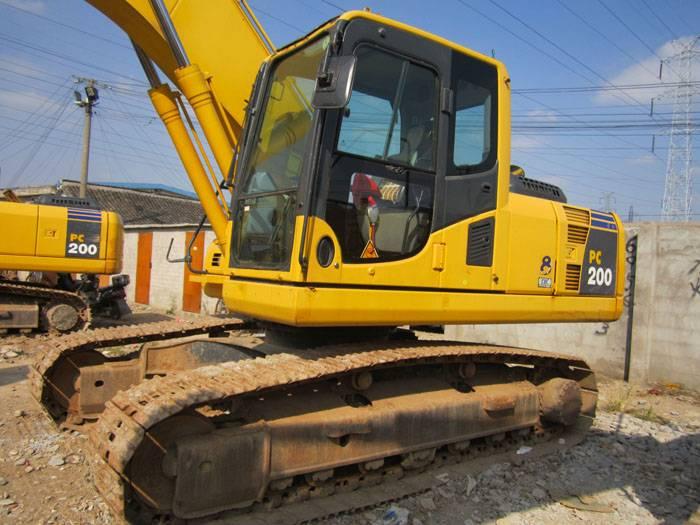 Used Komatsu excavator pc200-8 for sale