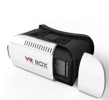 VR Box 2.0 Version Virtual Reality 3D Glasses+Remote Controller