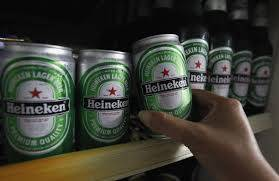 Canned Beer Heinekens....330ml