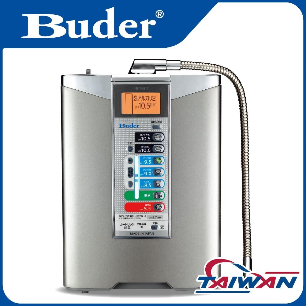 [ Taiwan Buder ] 2017 high quality desktop alkaline water ionizer