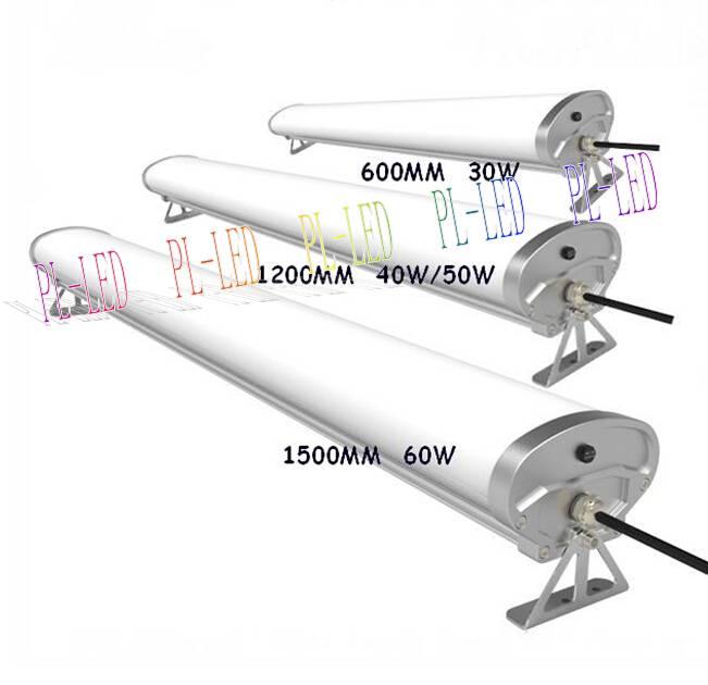IP65Water-Proof 4ft 50watt Supermarket Dust-Proof Durable TriProof LED Lights 1200mm/1.2m 40W 50W