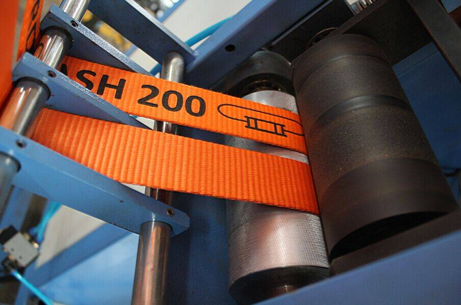 Harness Belts Automatic Cutting and Winding Machine for Sale