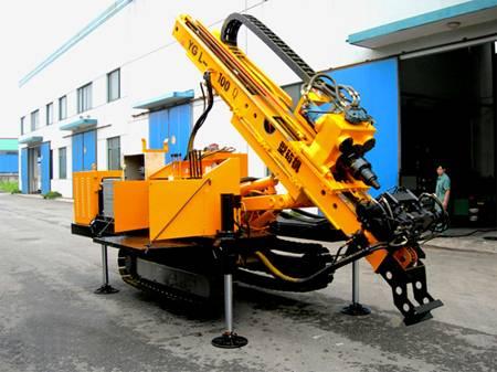Full Hydraulic Multifunctional Crawler Drilling Rig