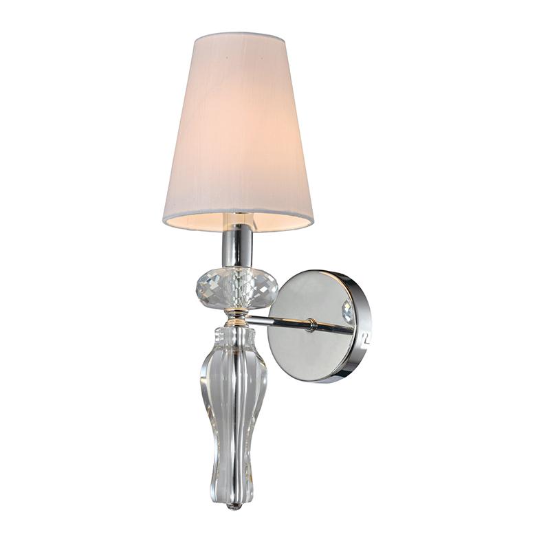1 Light Clear k9 Crystal Wall Lamp NC1241T-1CR