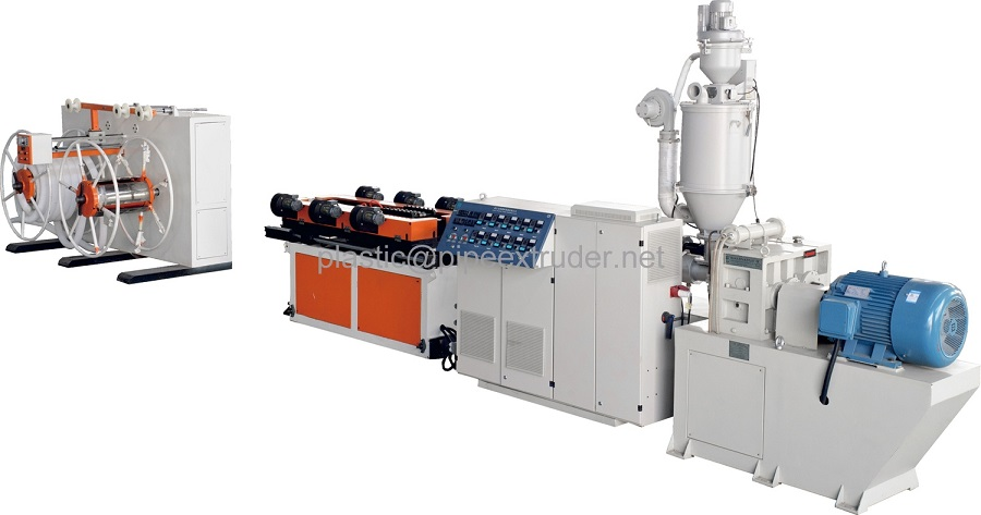 Pipe Extrusion Line-Single Wall Corrugated Pipe Extrusion Line