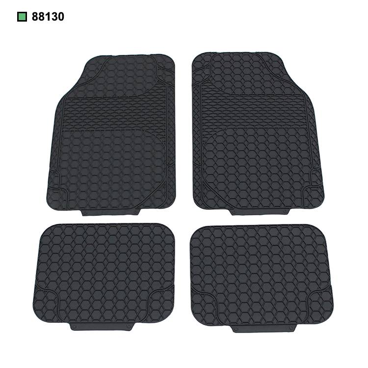 full set new vinyl/PVC car floor mat universal type 4 pcs