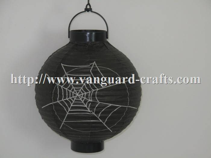 LED Halloween paper lantern light
