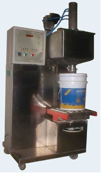 Semi Automatic Paint Filling Machine