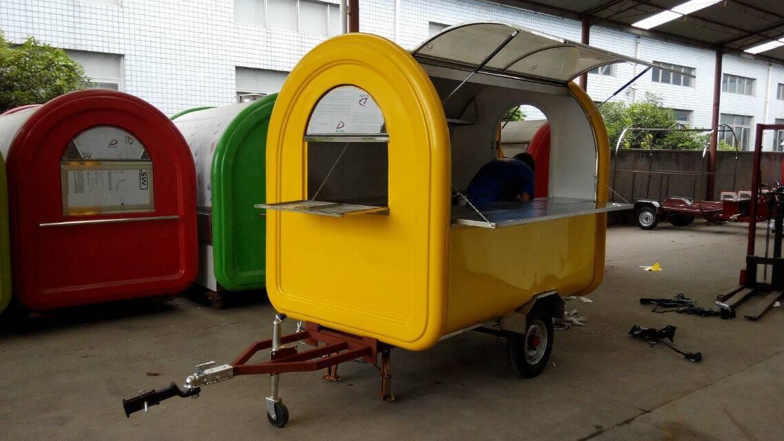 New Style Food Kiosk Mobile Food Carts