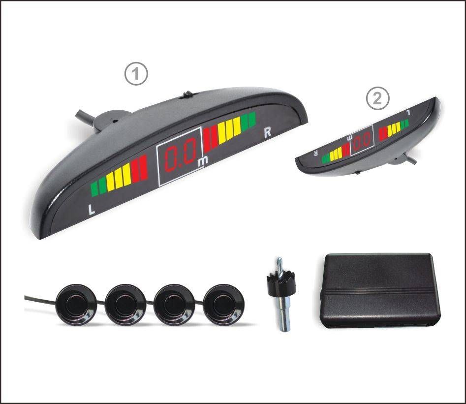 LED display Parking Sensor