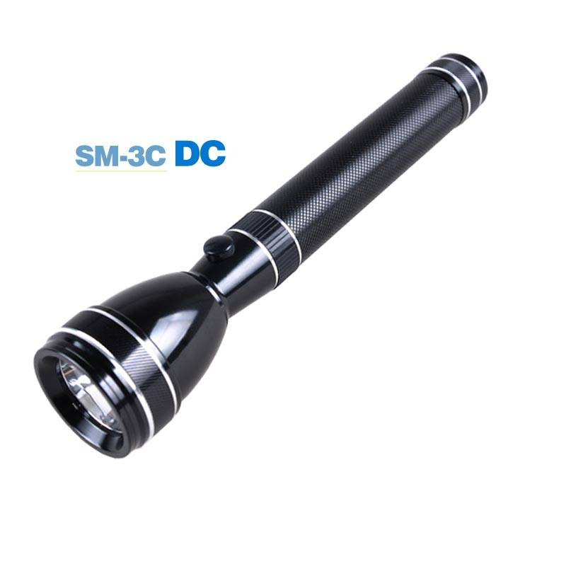 Bright flashlight IP65 LED rechargeable light torch