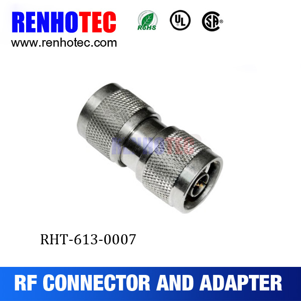 N Type Male to Male Coupler Connector RF Adapter