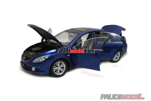 Mazda M6 2009 Mini Car Model Car Show Car Miniature Cars Metal car Plastic Models