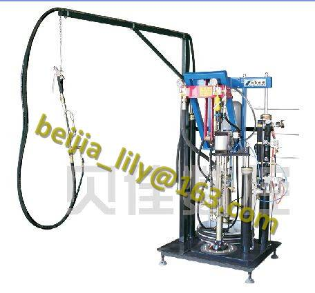 ST03 double glazing glass 2 component sealant machine