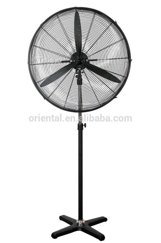 """34"""" stand fan / industrial pedestal fan 34 inch heavy duty ventilation fan"""