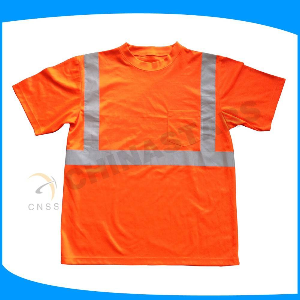 new coming short sleeve wholesale safety shirt