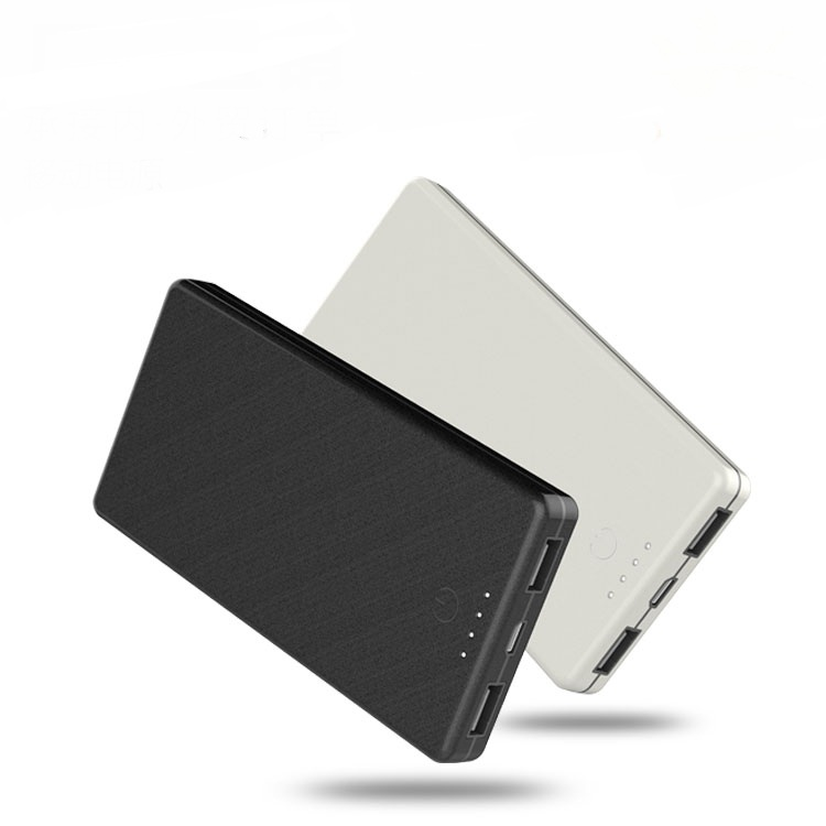 Touch Control Polymer Power Bank 8000 mAh/10000 mAh