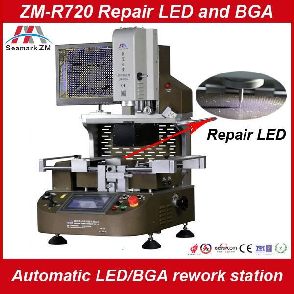 LED automatic bga rework station with feeding system ZM-R720
