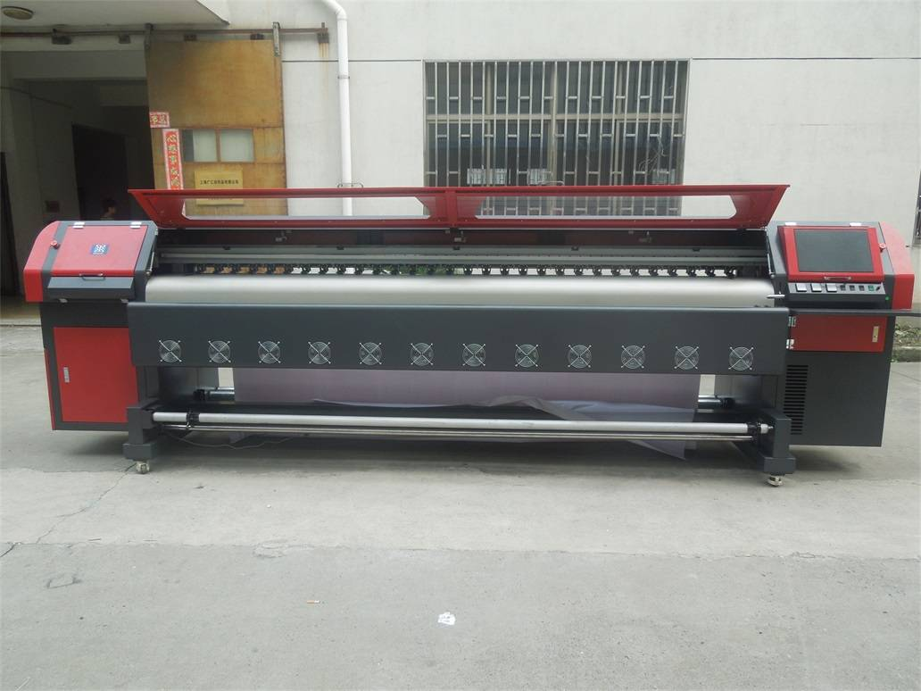 Spectra Polaris 512 Solvent Printer&Outdoor Flex Banner Printing Machine the King of the Speed