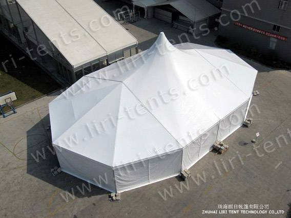 20x40m clear span tent luxury high peak tent supplier