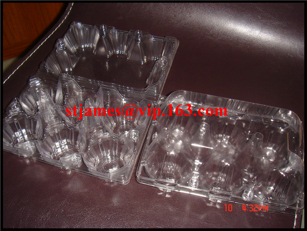 Sales Promotion Economical strong transparent PVC 6 Eggs Tray