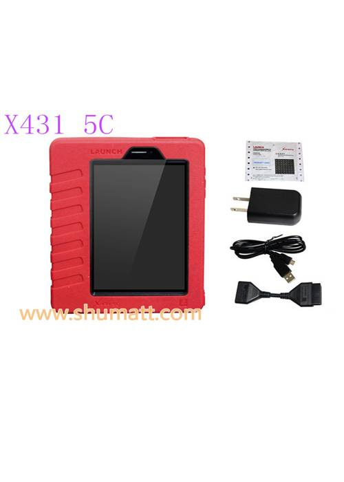 Newest LAUNCH X431 5C Pro Wifi/Bluetooth Tablet Diagnostic Tool Full Set Support Online One Click Up