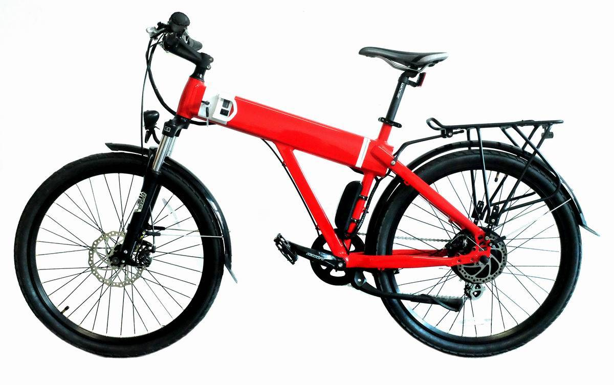 Electric mountain bicycle