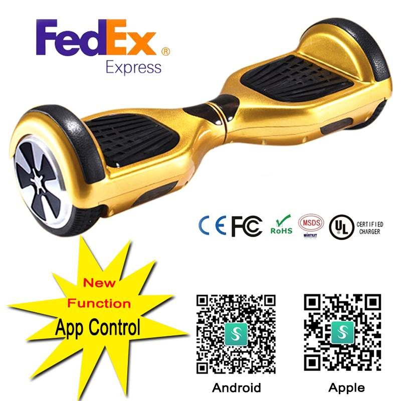 New hoverboard electric Two-wheel balancing electric scooter electric skateboard cheaper and safer w