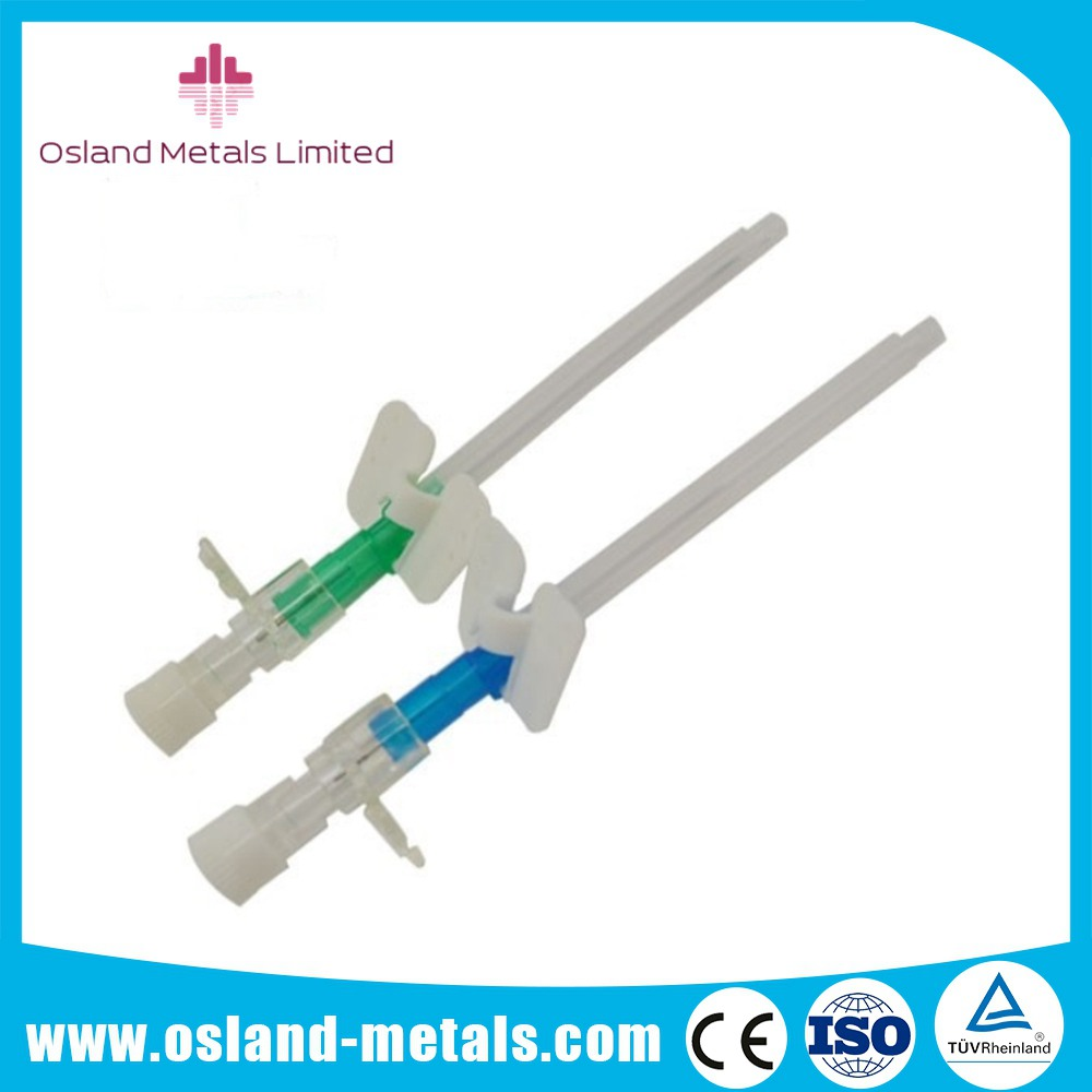 Safety Disposable I.V. Catheter with Small Wing I.V Cannula Catheter Intravenous Cannula with Compet