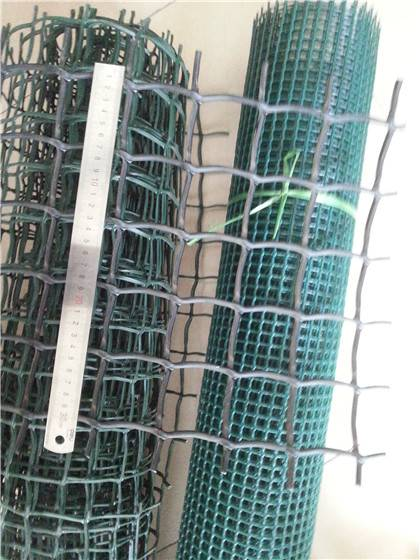 Plastic garden fence net / decorative garden mesh boundry