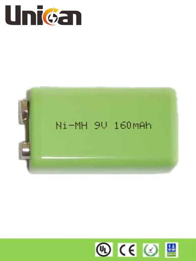 Ni-MH Rechargeable Battery 9V 160mAh