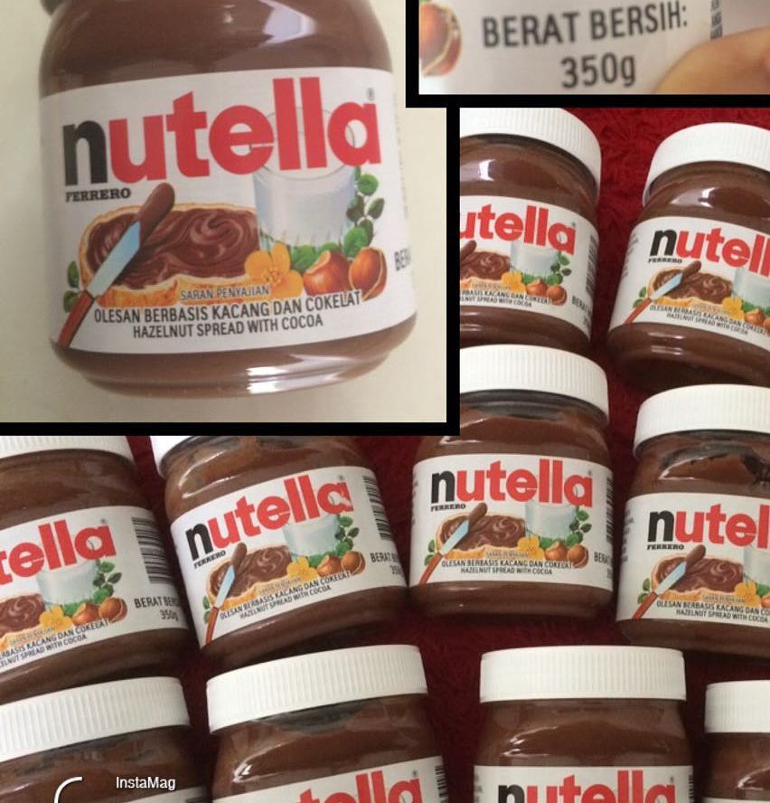NUTELLA 52g 350g 400g,800g And Other Chocolate products
