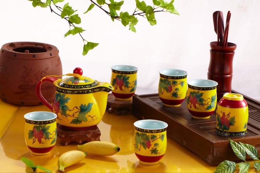 Good ceramic tea sets with competitive price