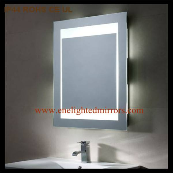 Illuminated wall mirrors for bathroom produced by ENE LIGHTED MIRRORS from China accepted custom oem