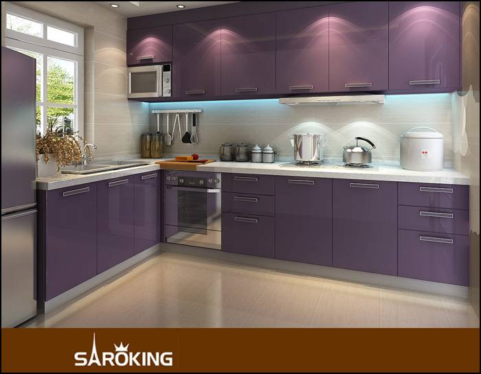 Modern Lacuqer Kitchen cabinets high glossy